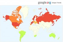 Google.org Grippe-Trends