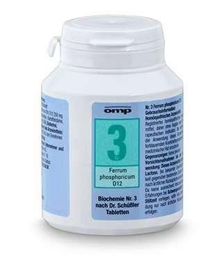 Schüßler-Salze – Nr.3 – Ferrum phosphoricum